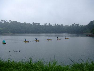 鮎川湖管理釣り場