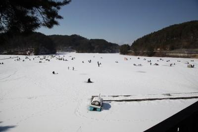 美鈴 湖 ワカサギ