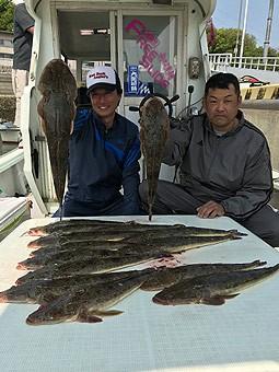 新西釣具店(新西丸)の2018年4月30日(月)1枚目の写真
