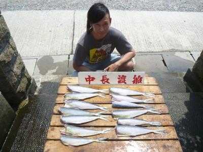 中長渡船の2018年7月19日(木)1枚目の写真