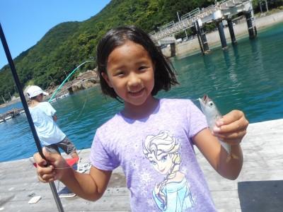 由良海つり公園&釣堀ランドの2018年7月21日(土)1枚目の写真