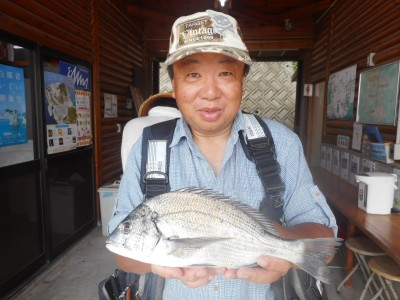 由良海つり公園&釣堀ランドの2018年7月28日(土)1枚目の写真
