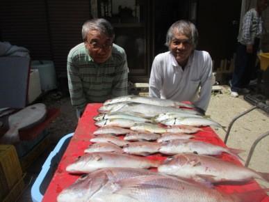 奥村釣船の2018年7月31日(火)3枚目の写真