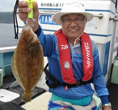佐々木釣具店 平進丸の2018年8月13日(月)1枚目の写真