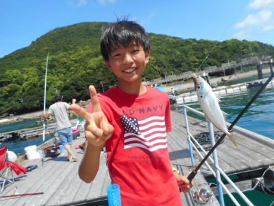 由良海つり公園&釣堀ランドの2018年8月13日(月)1枚目の写真
