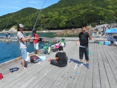 由良海つり公園&釣堀ランドの2018年8月13日(月)2枚目の写真
