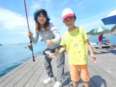 由良海つり公園&釣堀ランドの2018年8月14日(火)1枚目の写真