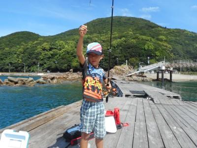 由良海つり公園&釣堀ランドの2018年8月14日(火)2枚目の写真