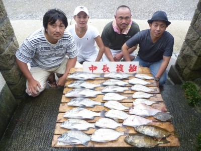 中長渡船の2018年8月15日(水)1枚目の写真