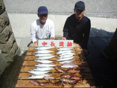 中長渡船の2018年8月18日(土)1枚目の写真