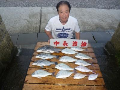 中長渡船の2018年8月18日(土)2枚目の写真