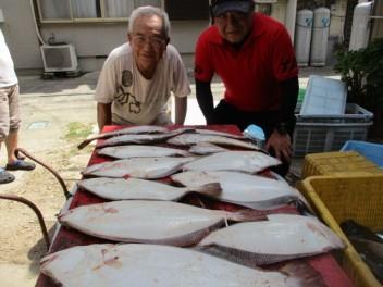奥村釣船の2018年8月21日(火)2枚目の写真