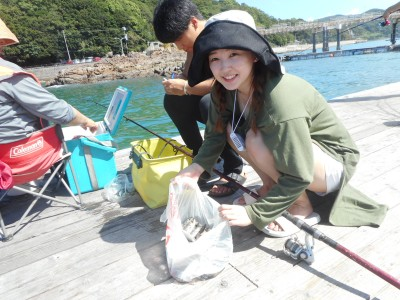 由良海つり公園&釣堀ランドの2018年8月26日(日)1枚目の写真