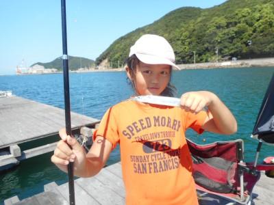 由良海つり公園&釣堀ランドの2018年8月27日(月)1枚目の写真