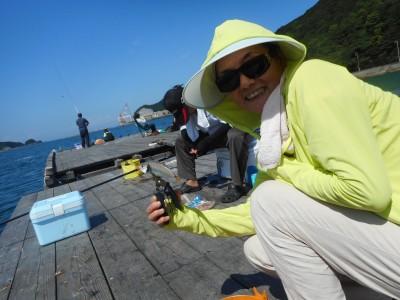 由良海つり公園&釣堀ランドの2018年8月27日(月)2枚目の写真