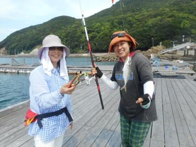 由良海つり公園&釣堀ランドの2018年8月28日(火)1枚目の写真