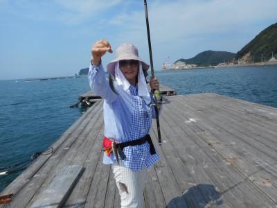 由良海つり公園&釣堀ランドの2018年8月28日(火)2枚目の写真