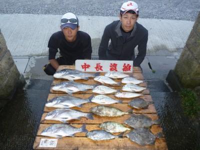 中長渡船の2018年8月30日(木)1枚目の写真