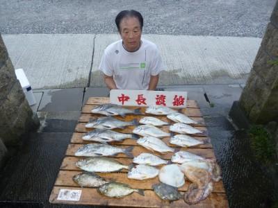 中長渡船の2018年8月30日(木)2枚目の写真