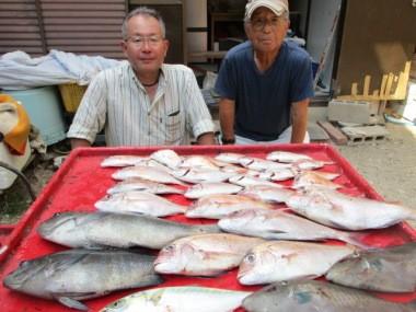 奥村釣船の2018年8月29日(水)3枚目の写真