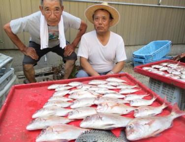 奥村釣船の2018年8月29日(水)4枚目の写真