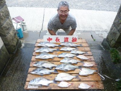 中長渡船の2018年8月31日(金)1枚目の写真