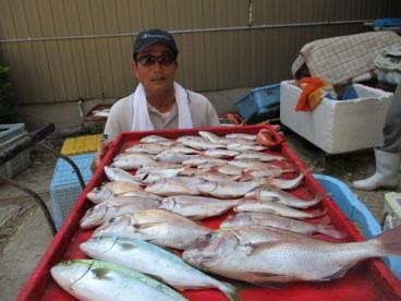 奥村釣船の2018年8月31日(金)4枚目の写真