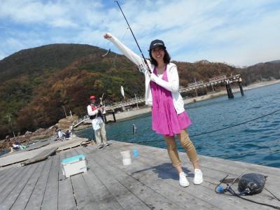 由良海つり公園&釣堀ランドの2018年9月17日(月)1枚目の写真