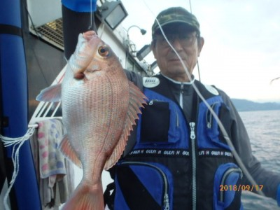 秀吉丸の2018年9月17日(月)5枚目の写真