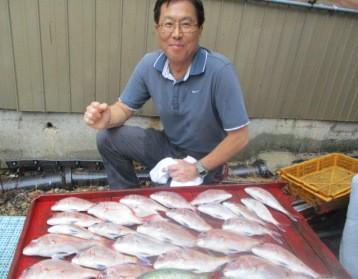 奥村釣船の2018年9月20日(木)3枚目の写真