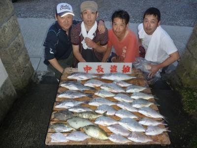 中長渡船の2018年9月22日(土)1枚目の写真