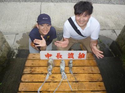 中長渡船の2018年9月24日(月)1枚目の写真