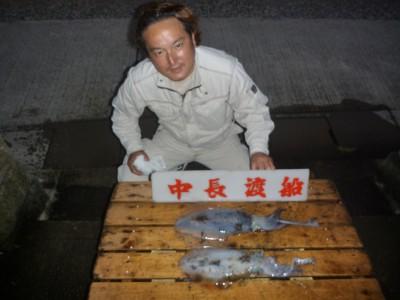 中長渡船の2018年10月18日(木)1枚目の写真