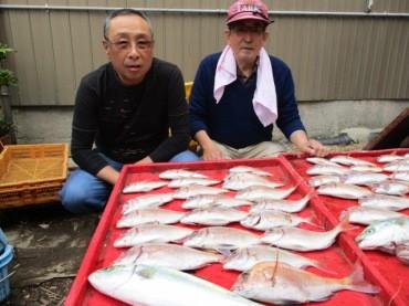 奥村釣船の2018年10月17日(水)1枚目の写真