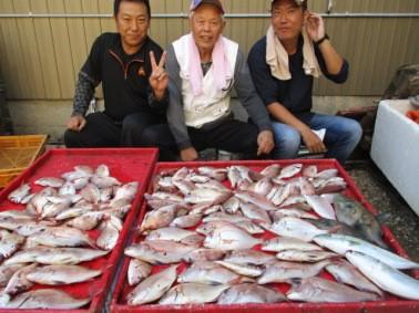 奥村釣船の2018年10月18日(木)3枚目の写真
