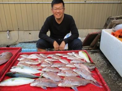 奥村釣船の2018年10月18日(木)4枚目の写真