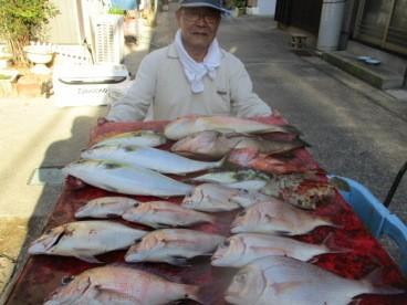 奥村釣船の2018年10月24日(水)3枚目の写真