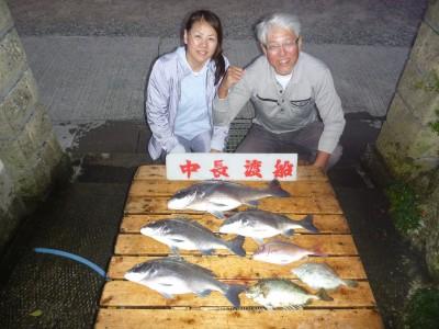 中長渡船の2018年10月25日(木)1枚目の写真