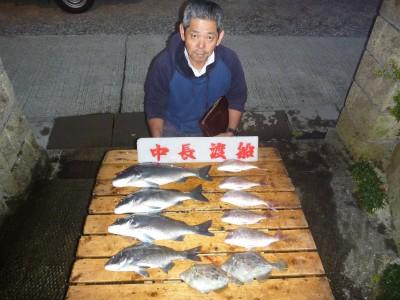中長渡船の2018年10月26日(金)1枚目の写真