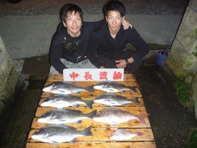 中長渡船の2018年10月28日(日)1枚目の写真