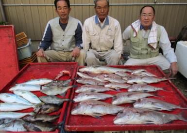 奥村釣船の2018年10月29日(月)3枚目の写真