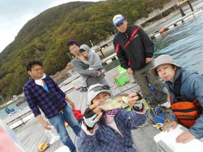 由良海つり公園&釣堀ランドの2018年10月31日(水)1枚目の写真