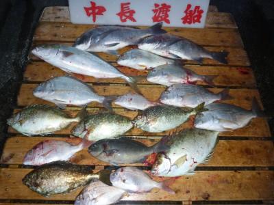 中長渡船の2018年10月31日(水)1枚目の写真