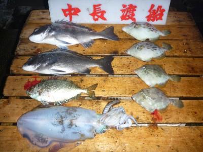 中長渡船の2018年11月16日(金)2枚目の写真
