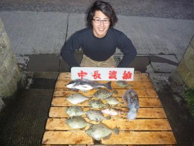中長渡船の2018年11月17日(土)1枚目の写真