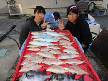 奥村釣船の2018年11月15日(木)1枚目の写真