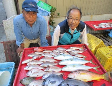 奥村釣船の2018年11月15日(木)2枚目の写真