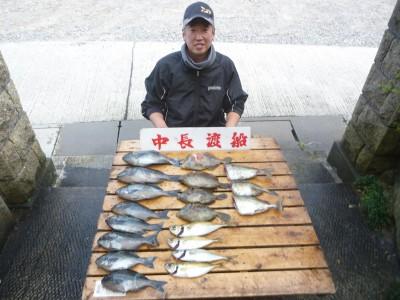 中長渡船の2018年11月21日(水)1枚目の写真