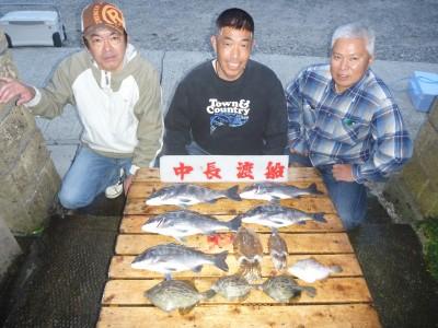 中長渡船の2018年11月26日(月)1枚目の写真