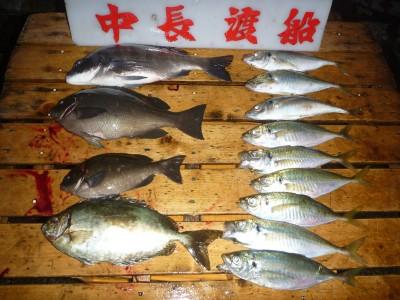 中長渡船の2018年11月27日(火)2枚目の写真
